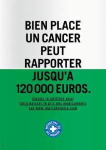 Affiche Médecins du monde
