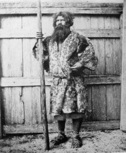 Un Aïnou (1880)